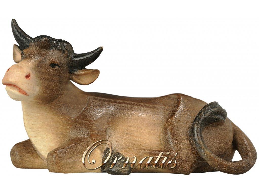 dřevěný vyřezávaný vůl vánoční dřevěný betlém prodejbetlém