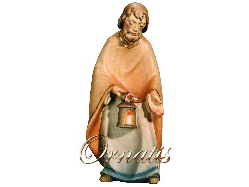 Dřevěná vyřezávaná socha Svatého Josefa