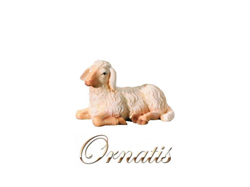 Dřevěná vyřezávaná socha Ovce