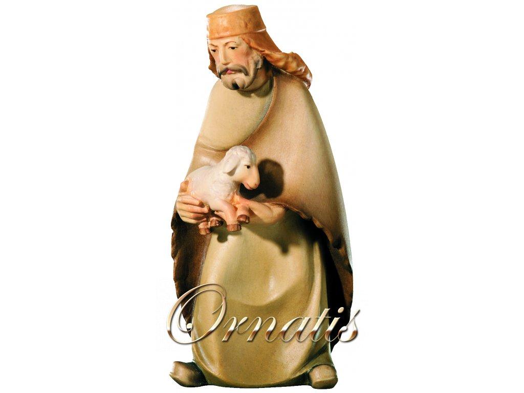 Dřevěná vyřezávaná socha Poutníka