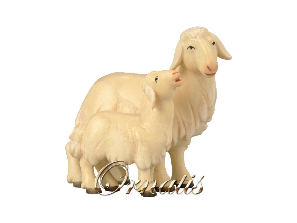 1855 betlem soska drevo ovce figurka