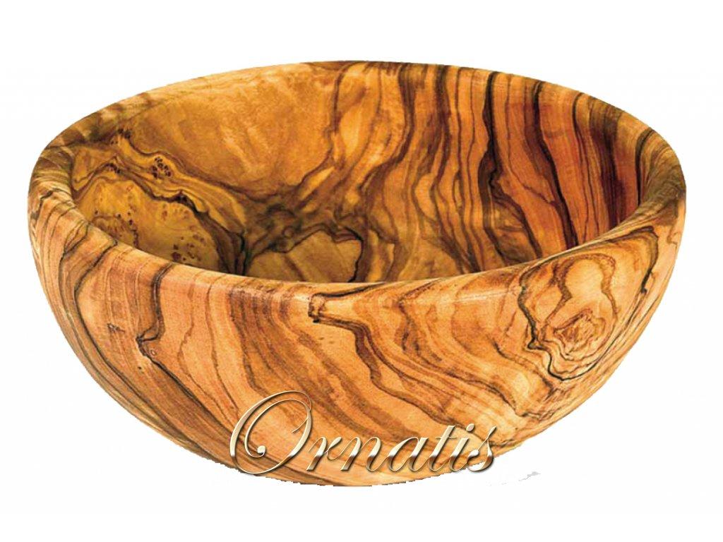 Dřevěná mísa z olivového dřeva