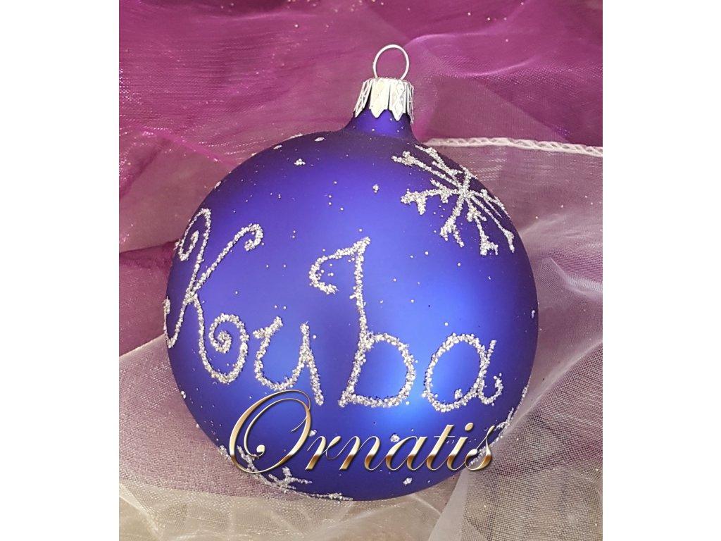vánoční ozdoby se jmény ozdoby na přání