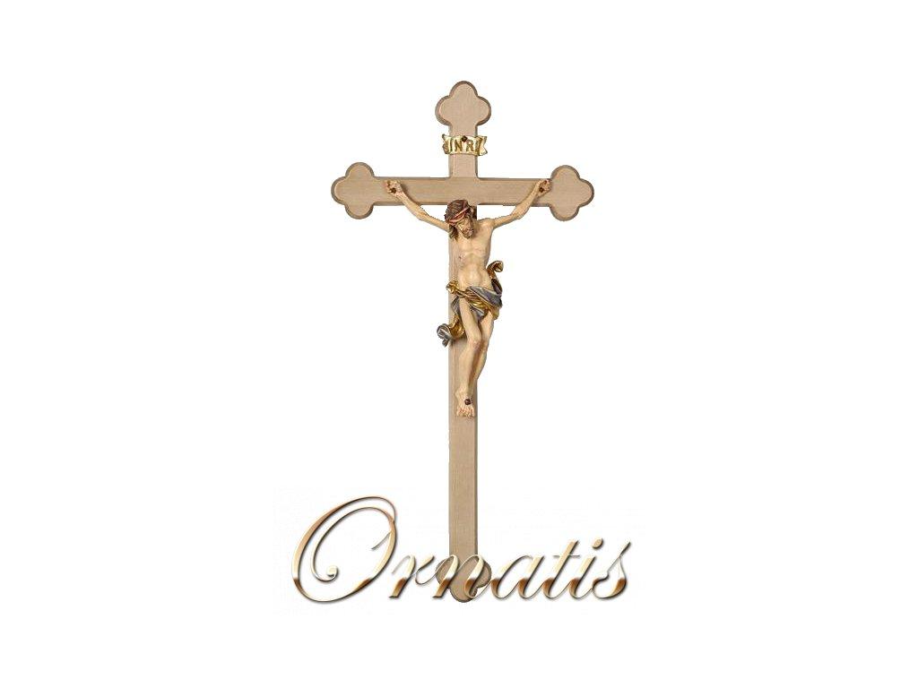 dřevěná socha jezis kristus kriz drevořezba
