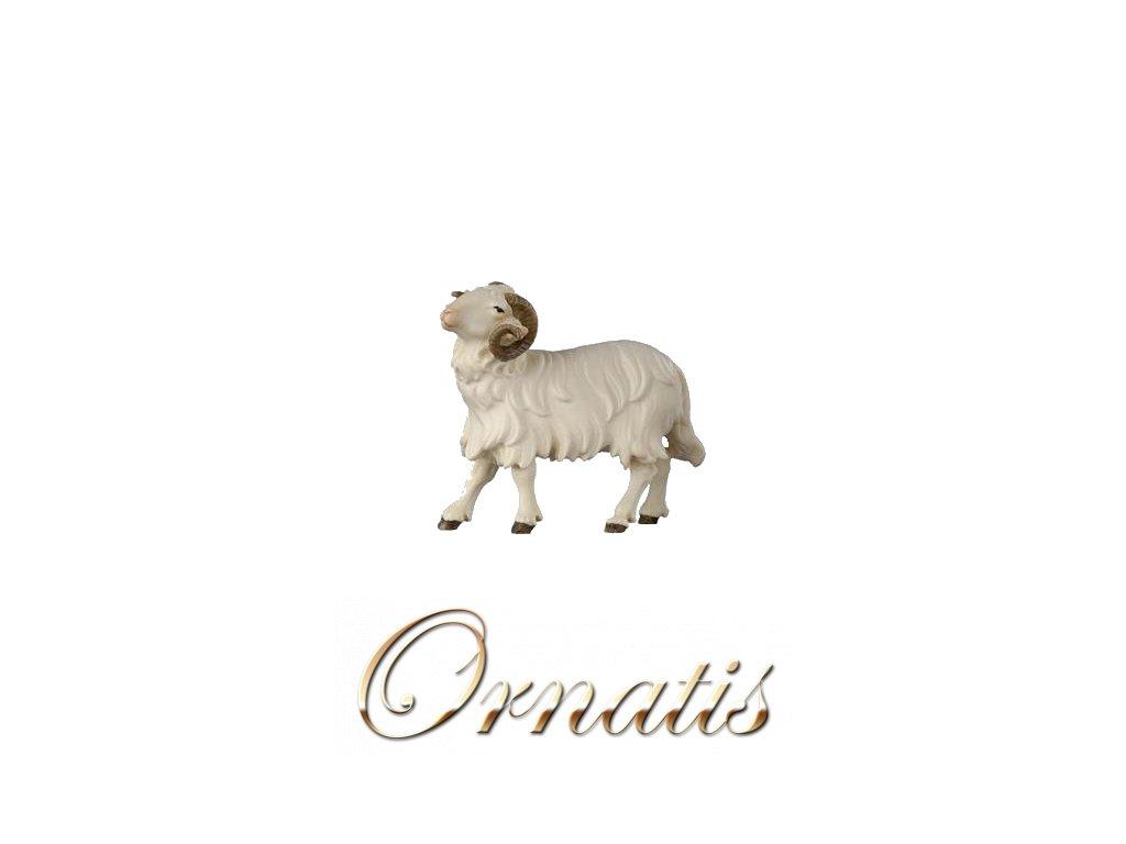 801119 koza figurka betlem drevo soska