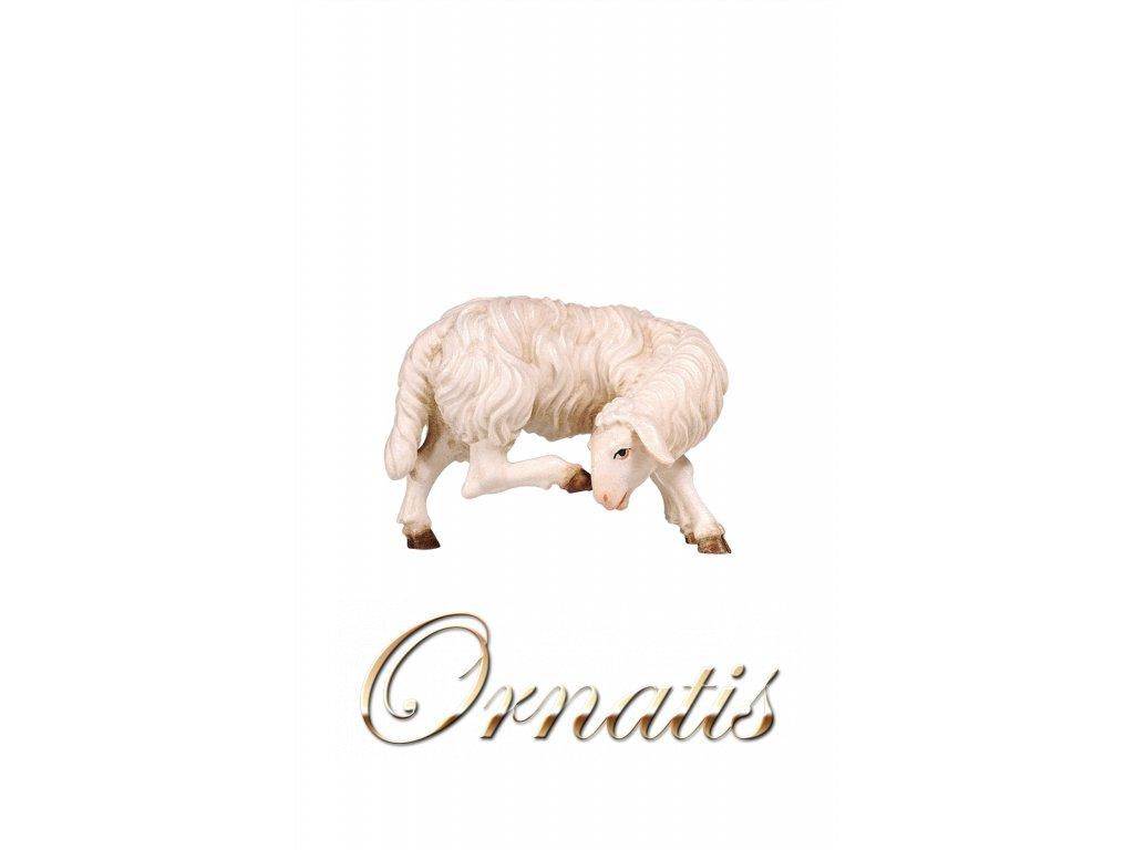 dřevěná yřezávaná ovečka do betlému prodej betlému
