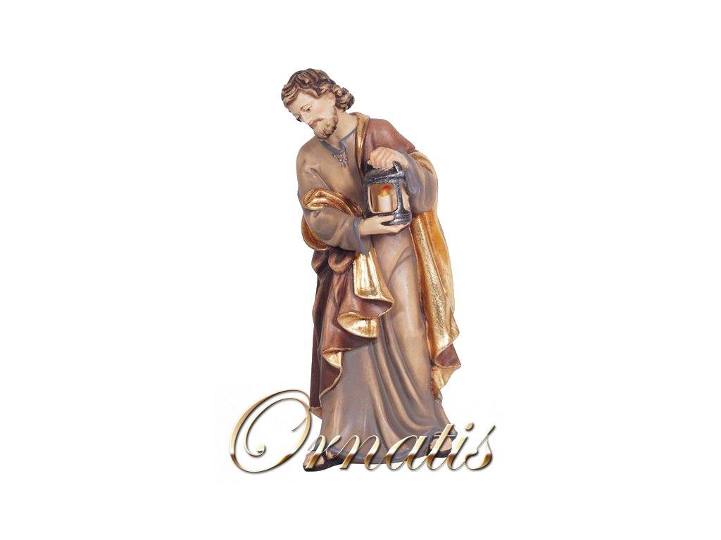 svatý josef panna marie svatá rodina dřevěná