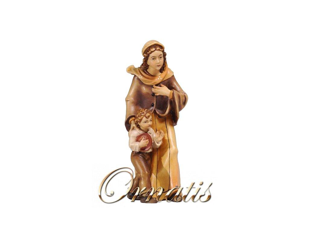 součásti betlému dřevěné sochy výroba