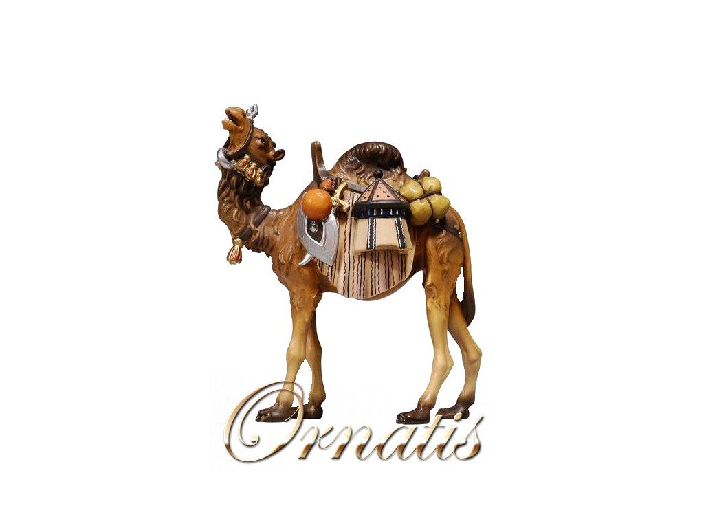 dřevěný vyřezávaný velbloud soska betlem figurka drevo dary 8
