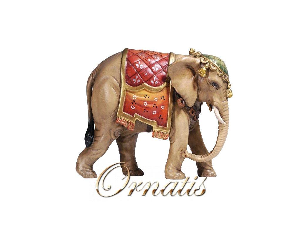 dřevěná soška slona do betlému