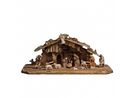 801662 betlem pastyr soska pannamarie jezisek josef figurka drevo ovce osel trikralove dary 4