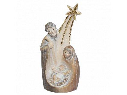 socha svaté rodiny drevo figurka svata rodina