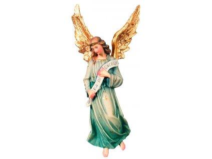 Dřevěný vyřezávaný anděl-prodej betlémů