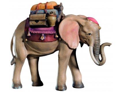Slon s dary-prodej belémů