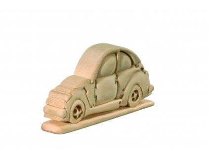 Dřevěné auto-3D puzzle
