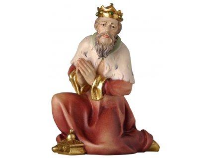 Tři králové Melichar (Velikost salaše Přírodní, Velikost stojících figur 10 cm)
