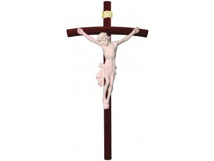 dřevěný vyřezávaný Ježíš Kristus-přírodní