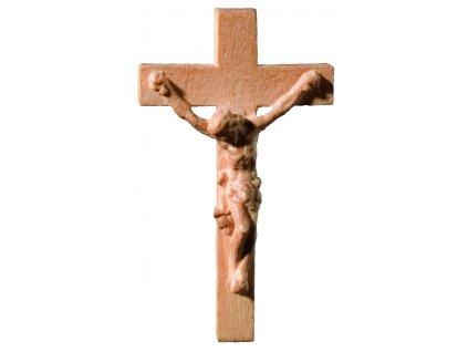 dřevěný Ježíš na kříži