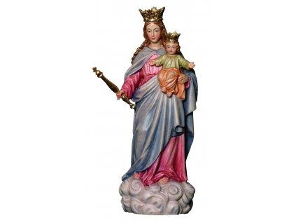 dřevěná vyřezávaná socha panny marie pomocnice křesťanů_online prodej dřevěných soch