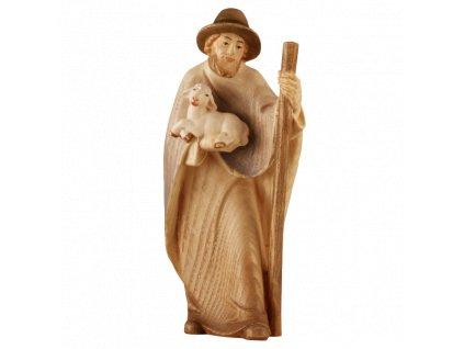 1822 betlem soska drevo pastyr figurka