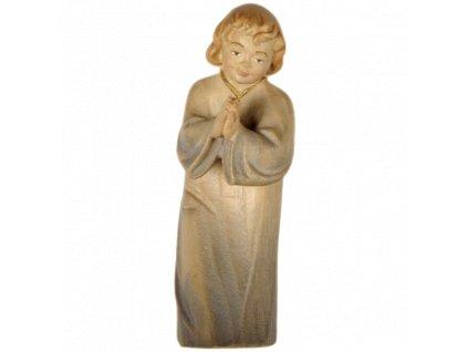 1828 betlem soska drevo chlapec figurka