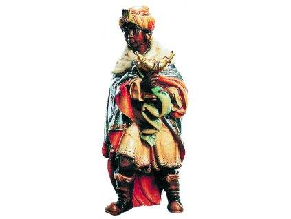 Dřevěná vyřezávaná socha Krále Baltazara