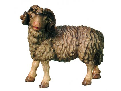Dřevěná vyřezávaná socha Berana