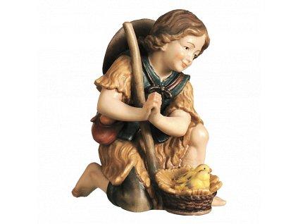 2140 chlapec poutnik jezisek betlem