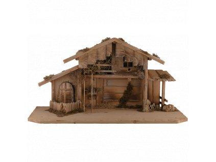 dřevěný chlév betlém prodej salaš prodej betlémů dřevěné betlémy
