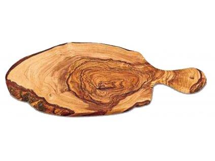 Dřevěné prkno s držadlem z olivového dřeva