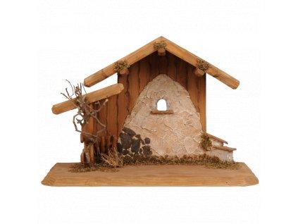 chlev betlem drevo  prodej beltému dřevěný betlém