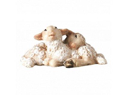2480 ovce jehne betlem drevo
