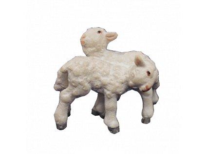Jehňata stojící (Velikost salaše Malovaná, Velikost stojících figur 14 cm)