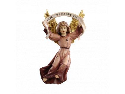 dřevěný ručně vyřezávaný anděl prodej betlému