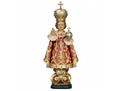 dřevěná soška pražské jezulatko soska drevo figurka