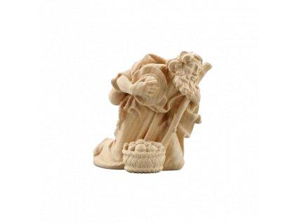 785018 natur poutnik soska betlem figurka drevo 6