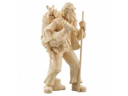 785085 natur pastyr soska koza figurka betlem drevo 4