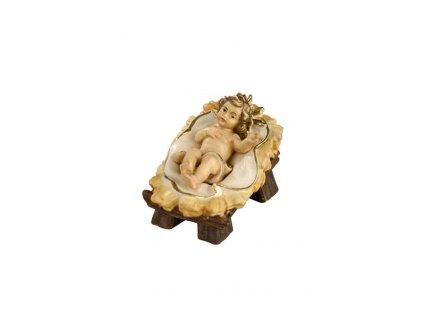 dřevěný vyřezávaný ježíšek v jesličkách prodej betlému