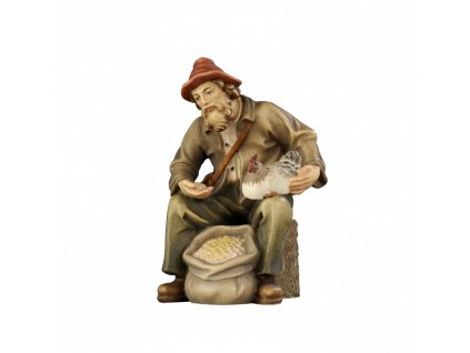 790037 color betlem soska drevo figurka malovana