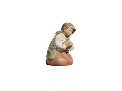 dřevěná soška z betlému
