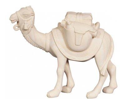 Dřevěná, vyřezávaná soška velblouda