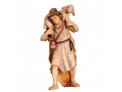 pastyr figurka betelem drevo soska