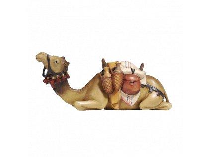 dřevěný vyřezávaný velbloud soska drevo betlem figurka dary 5