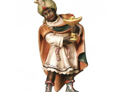 Tři králové Baltazar II (Velikost salaše Malovaná, Velikost stojících figur 22 cm)