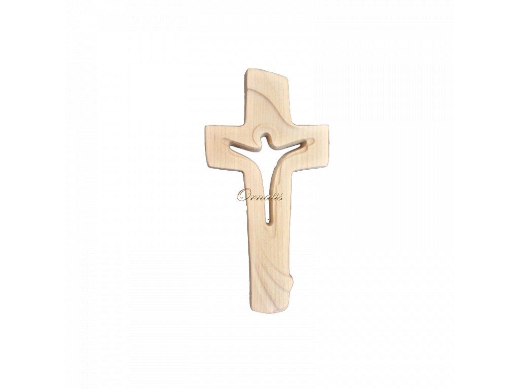 Krzyża sylwetka Jezusa Chrystusa