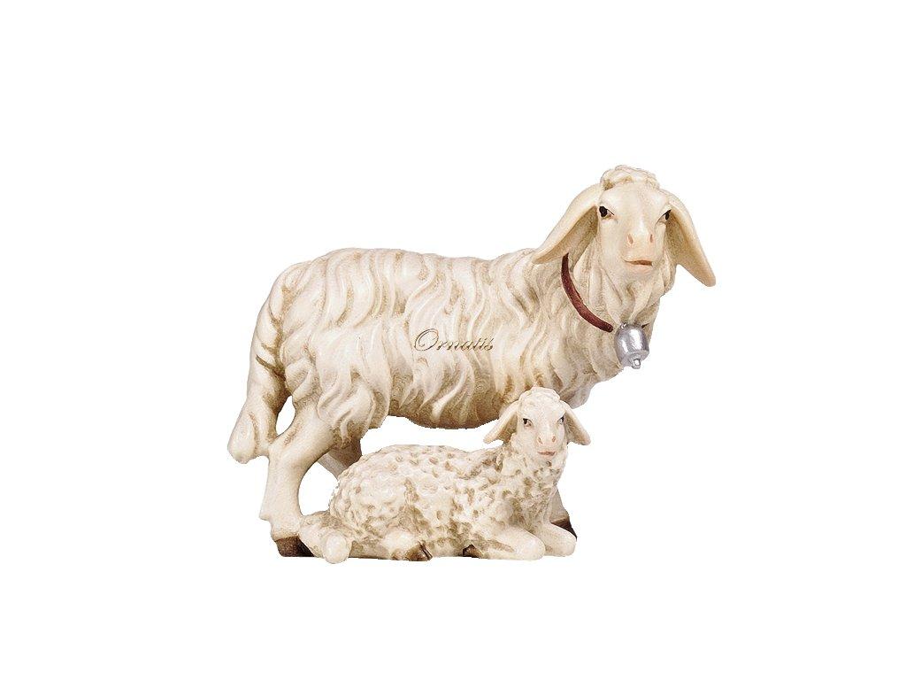tradiční dřevěné vánoční betlémy figurky zvířat do betlému