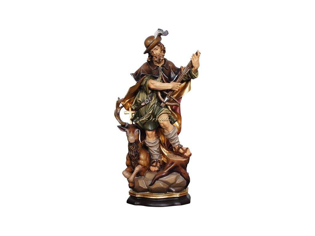 Sv. Hubert sřevěná socha