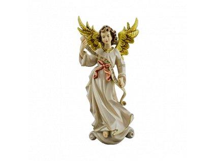 dřevěný malovaný anděl prodej soch restaurování soch