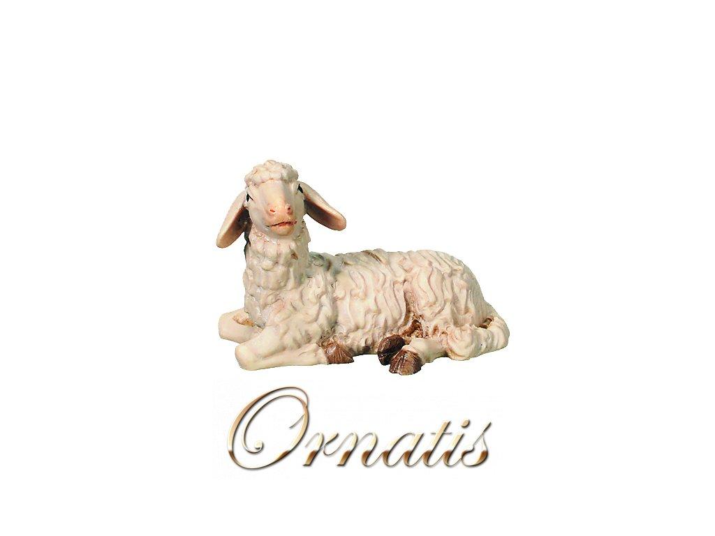 Dřevěná ležící ovečka-prodej betlémů