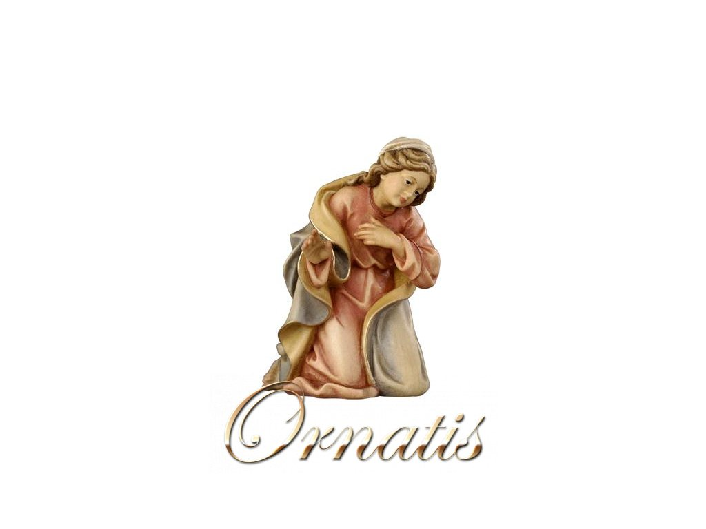 panna marie svatá rodina dřevěný betlém